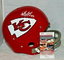 Bobby Bell Autographed Signed Kansas City Chiefs TK Full Size Helmet JSA HOF