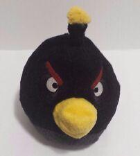 "Angry Birds Plush Black Bird 5"" Commonwealth 2010 EUC"