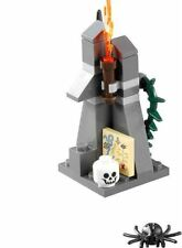 LEGO HOBBIT LORD OF THE RINGS LONELY MOUNTAIN MAP TORCH SKULL SPEAR SPIDER THORN