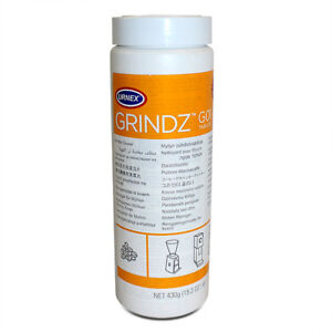 Urnex GRINDZ™ Coffee Grinder Cleaning - Cleaner Tablets - 430G TUB - Easy to use