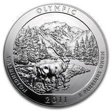 5 oncia 999 Moneta d'Argento argento ATB Olympic Nazionale Parco 2011