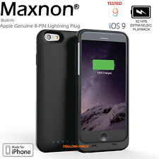 iPhone 6Plus battery case 4000mAh MFi Certified Ultra-Slim Removable 150% charge