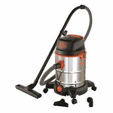 BLACK & DECKER Aspirateur eau et poussiere 1600 W cuve  30 L en inox avec prise