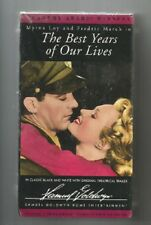 Rhtf The Best Years Of Our Lives (1946)- B&W Stereo-Vhs-New/Sealed-Fre e Ship