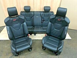 FORD FOCUS ST FULL LEATHER INTERIOR TRIM SEATS SET ELECTRIC 2013 2014 2015 -2018