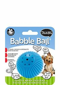 Talking Babble Balls® Dog Toy (Small)