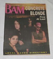 BAM LA's Music Magazine 19 May 1989 308 Concrete Blonde Free at Last