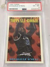 Shaquille O'neal 1993 Topps All Rookie #152 Psa 6 Shaq Orlando Magic pop 30