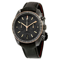 Omega Speedmaster Moonwatch Chronograph Automatic Black Dial Mens Watch