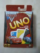 UNO CARS 2 CARD GAME - NEW