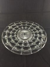 """Indiana Constellation Clear 14"""" Sandwich Plate EUC & FREE SHIP"""