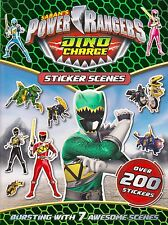 Saban's Power Rangers Dino Charge Sticker Scenes  BRAND NEW BOOK (Paperback 2016