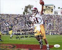 "~~ MATT LEINART Authentic Hand-Signed ""USC ~ HEISMAN"" 8x10 Photo (JSA COA) ~~"