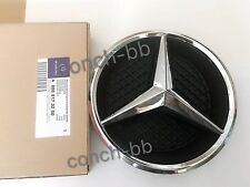 MERCEDES-BENZ E CLASS W213 Front GRILL STAR BADGE EMBLEM Chrome with Base