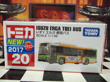 TOMICA #20 ISUZU ERGA TOEI BUS 1/136 SCALE NEW IN BOX