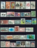 DENMARK...COLLECTION  36 STAMPS...MIXED LOT.