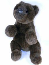 Gund EDDIE BAUER Grizzly Bear Plush Teddy Bear Dark Brown Excellent Condition