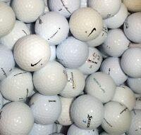 50 Lakeballs im  Markenmix AAA/AA
