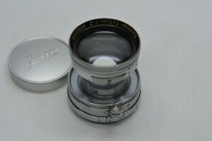 [NEAR MINT] Leica Ernst Leitz Wetzlar Summitar 5cm 50mm F2 L39 LTM LENS From JP