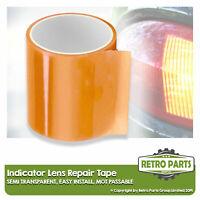 Front Rear Indicator Lens Repair Tape for Vintage Car. Amber Lamp Seal MOT