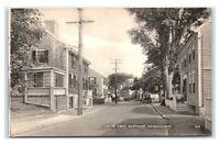 Postcard Center Street, Nantucket MA b&w I6