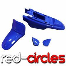 BLUE PW50 PLASTICS / MUDGUARD FAIRING KIT fits YAMAHA PW 50 PEEWEE 50cc