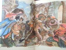 DUMAS ALEXANDRE/ LES TROIS MOUSQUETAIRES/ 1981/ 2 VOL/2 ILLUSTRE RESCHOFSKY