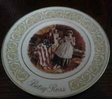 Betsy Ross 1973 Collectible Plate
