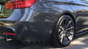 BMW F30 F31 F32 F80 E90 E92 Rear Bumper Extension Splitters