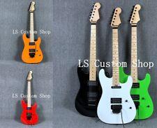 Stock ST Electric Guitar FloydRose Bridge Standard Maple Neck Black Hardware