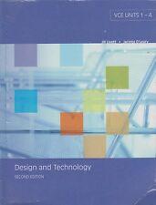 Design and Technology. VCE Units 1 - 4; Jill Livett, Jacinta O'Leary. Second Ed.