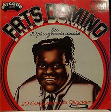 LP Fats Domino - ses 20 plus grands succès  france 1977 Très bonne état