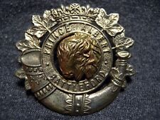 Prince Albert & Battleford Volunteers Ww Ii Cap Badge 1939 M.82 Pa&Bv Canada