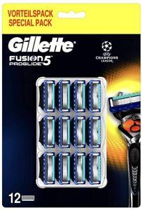 Gillette Fusion Proglide, 12 Lamette Di Ricambio. Nuovo, Sigillato E Originale.