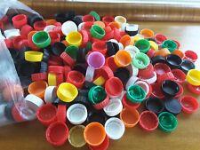 200 mini rainbow pog milk caps lids crowns crafts day care painting scrapbooking