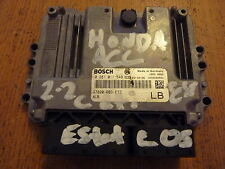 HONDA ACCORD ESTATE TOURER 04-07 2.2 i-CDTI ENGINE ECU 0281011548 37820 RBD E33