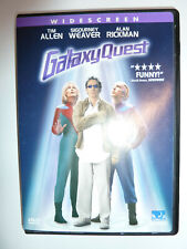 Galaxy Quest Dvd 90s sci-fi comedy movie Tim Allen Sigourney Weaver Widescreen!