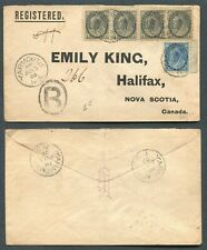 """CANADA #74, 79 """"NUMERAL"""" REGISTERED COVER"""