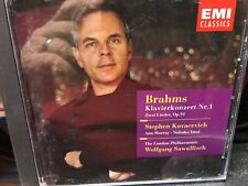 CD : BRAHMS  : Piano Concerto No. 1 in D Minor , op. 15 /Two songs for Alto ...