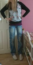 Topshop Denim Low Rise Jeans Size Tall for Women