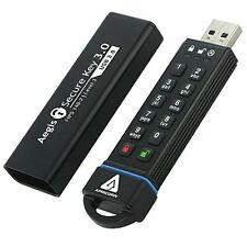 Apricorn Aegis Secure Key 120gb FIPS 140-2 Level 3 Validated USB 3.0 Flash Drive