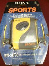 Sony SPORTS Walkman Portable Cassette Auto Reverse Tape Player AM/FM Radio WM...