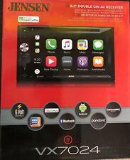 "Jensen Vx7024 6.2"" Apple CarPlay Dvd/Cd Receiver w/Built In Navigation Brand New"