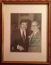 "SENATOR RUSSELL LONG  8"" x 10"" B&W Photograph SIGNED by the Senator"