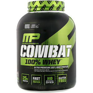 MUSCLEPHARM COMBAT 100% WHEY 5LB // WHEY PROTEIN POWDER WPI WPC MUSCLE PHARM #