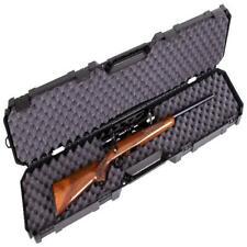 50.5 inch Multi Firearm Weapon Hard Gun Case Rifle Shotgun Storage Safe Handle