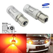 Orange 1156 BAU15s PY21W Ampoule SAMSUNG 15 SMD LED Clignotant Feu arriere Lampe