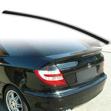Fyralip Trunk Lip Spoiler For Mercedes Benz C Class W203 Coupe 01-07 Unpainted