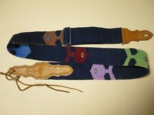 Artistic Hand Made Guitar Strap, Western Design