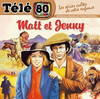"CD NEUF BOF ""TELE 80 : MATT ET (& AND) JENNY"" (Isabelle PERUZAT, ...)"